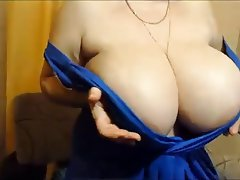 BBW, Big Boobs, Mature, Russian