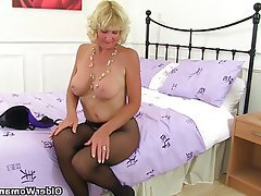 British, Granny, Mature, MILF