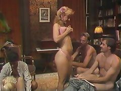Blowjob, Group Sex, MILF, Blonde