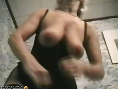 Big Boobs, Blonde, Granny, Mature