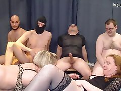 Gangbang, Group Sex, Granny, Mature