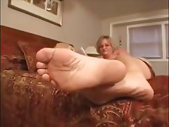 Close Up, Foot Fetish, MILF