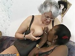 Anal, Granny, Group Sex, Mature