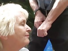 Granny, Mature, Old and Young, Outdoor