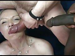 Bukkake, Mature, Facial, Cumshot