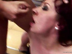 Ass Licking, Group Sex, Granny, Mature