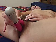 Brunette, Mature, Small Tits, Orgasm