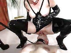 BDSM, Face Sitting, Femdom, Mature