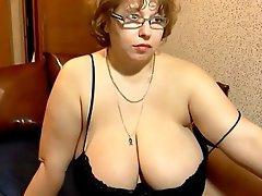 BBW, Masturbation, Mature, Russian