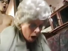 Blowjob, Granny, Handjob, Masturbation