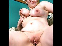 Amateur, BBW, Close Up, Granny