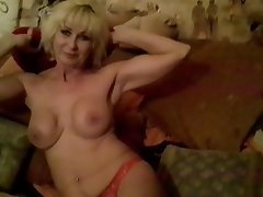 Blonde, Mature, MILF, Lingerie
