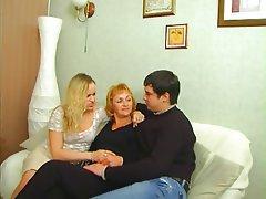 Mature, Russian, Strapon
